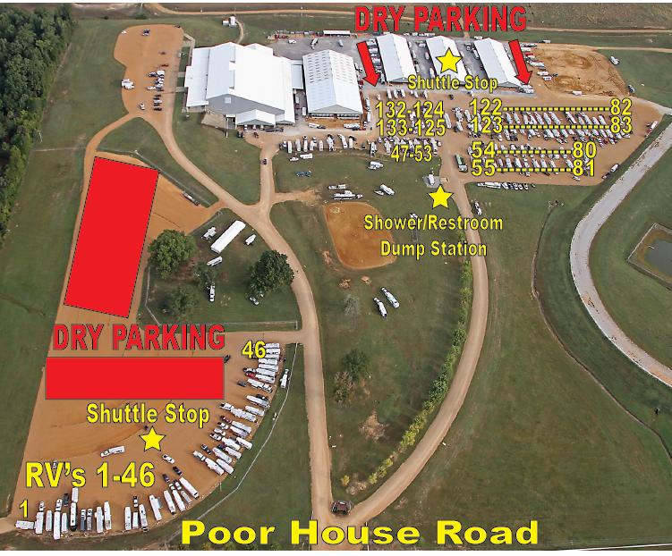 Football Rv Parking Mississippi Horse Park